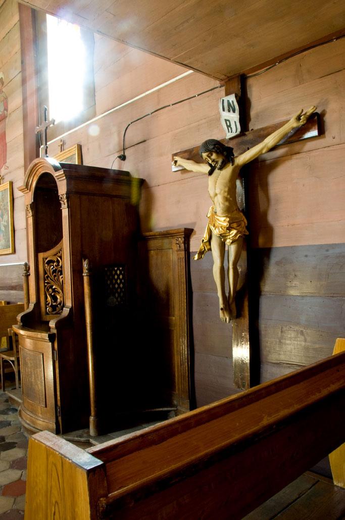 Krzyż Późnogotycki